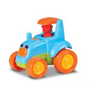 Trator Baby Truck 0210 Azul – Roma Brinquedos