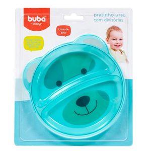 Pratinho Urso com Divisórias 5811 Azul – Buba
