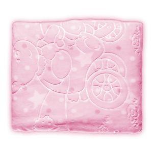 Cobertor Infantil Super Soft 80 x 110cm Rosa – Jolitex