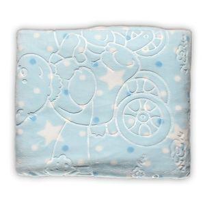 Cobertor Infantil Super Soft 80 x 110cm Azul – Jolitex