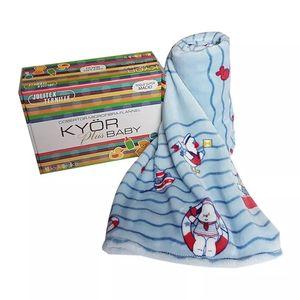 Cobertor Microfibra Flannel Marinheiro - Jolitex Ternille