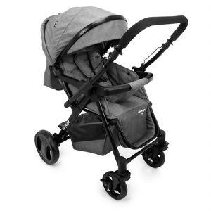 Carrinho De Bebê Trip Cinza Mescla 0-15kg - Voyage
