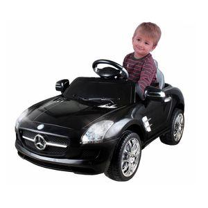 Carro Elétrico Infantil Mercedes Preta 6 Volts – Xalingo