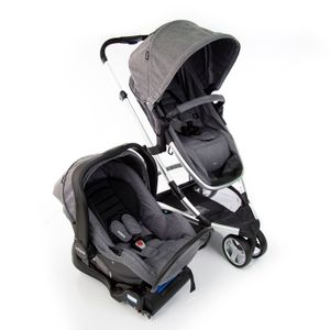 Carrinho de Bebê Travel System Sky Trio TS Grey Classic - Infanti