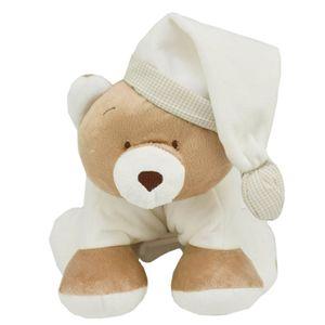 Pelúcia Puppet Urso Nino Branco - Zip