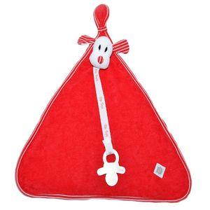 Naninha Blanket Atoalhada Listrado Vermelho- Zip