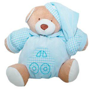 Pelúcia Urso Nino 22cm Azul - Zip