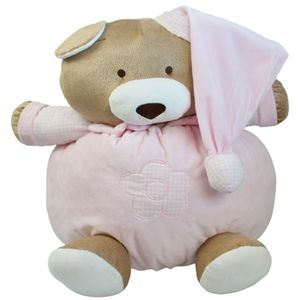 Pelúcia Urso Nino 46 cm Rosa- Zip