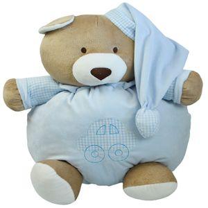 Pelúcia Urso Nino 46 cm Azul - Zip